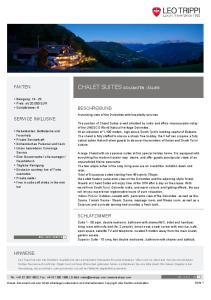 CHALET SUITES DOLOMITEN, ITALIEN