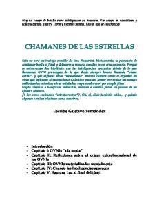 CHAMANES DE LAS ESTRELLAS