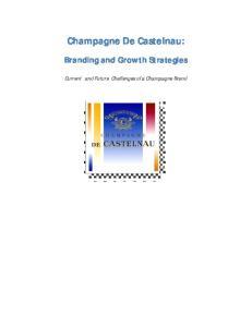 Champagne De Castelnau: Branding and Growth Strategies
