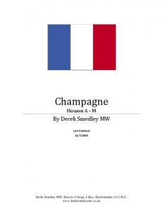 Champagne Houses A - M