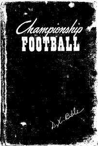 CHAMPIONSHIP FOOTBALL