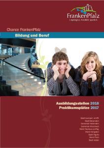 Chance FrankenPfalz Bildung und Beruf