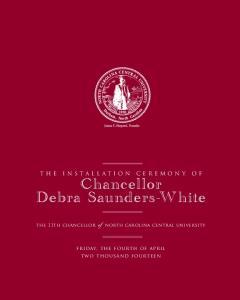 Chancellor Debra Saunders-White