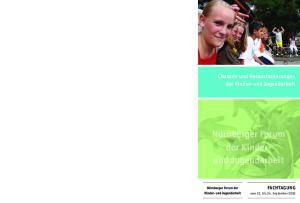 Chancen und Herausforderungen der Kinder- und Jugendarbeit