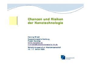 Chancen und Risiken der Nanotechnologie