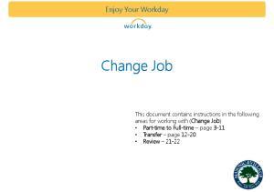 Change Job. Enjoy Your Workday