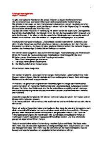 Change-Management Doppler - Lauterburg