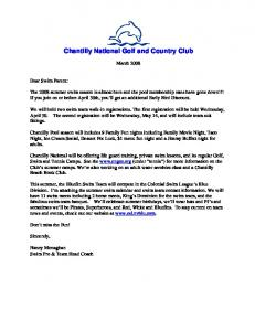 Chantilly National Golf and Country Club