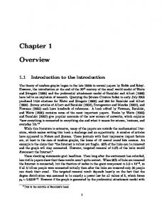 Chapter 1. Overview. 1.1 Introduction to the introduction
