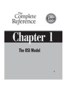 Chapter 1. The OSI Model