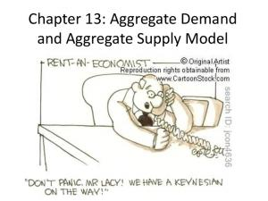 Chapter 13: Aggregate Demand and Aggregate Supply Model