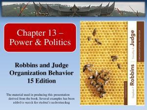 Chapter 13 Power & Politics