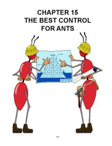 CHAPTER 15 THE BEST CONTROL FOR ANTS