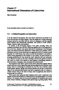 Chapter 17 International Dimensions of Cybercrime