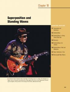 Chapter 18. Superposition and Standing Waves