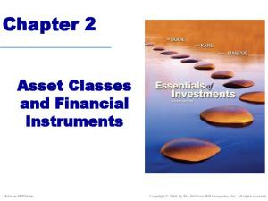 Chapter 2. Asset Classes and Financial Instruments. Copyright 2010 by The McGraw-Hill Companies, Inc. All rights reserved