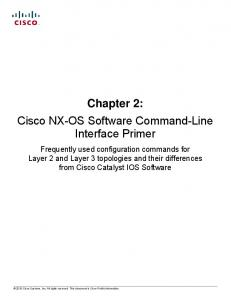 Chapter 2: Cisco NX-OS Software Command-Line Interface Primer
