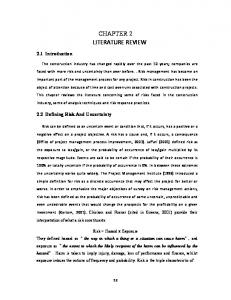 CHAPTER 2 LITERATURE REVIEW
