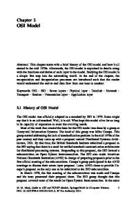 Chapter 2 OSI Model. 2.1 History of OSI Model