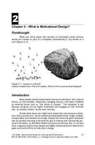 Chapter 2 What is Motivational Design?