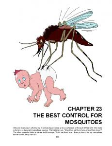 CHAPTER 23 THE BEST CONTROL FOR MOSQUITOES
