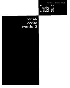 chapter 26 vga write mode 3