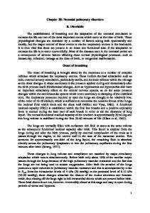 Chapter 28: Neonatal pulmonary disorders. R. Dinwiddie. Onset of breathing