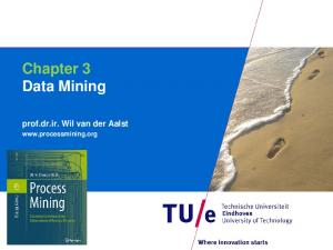 Chapter 3 Data Mining