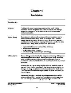 Chapter 4. Precipitation