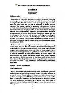CHAPTER (5) CASE STUDY