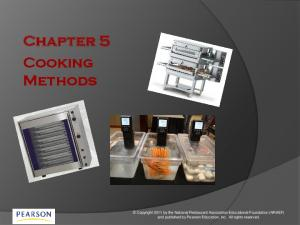 Chapter 5 Cooking Methods