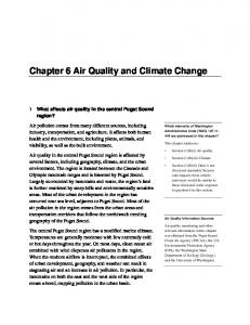 Chapter 6 Air Quality and Climate Change