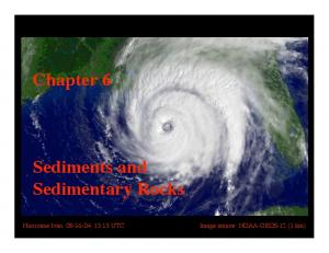 Chapter 6. Sediments and Sedimentary Rocks