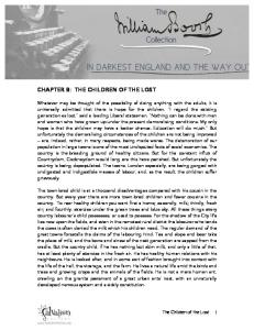 CHAPTER 8: THE CHILDREN OF THE LOST