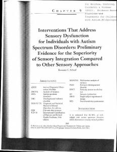 CHAPTER 9. Autism Diagnostic Observation