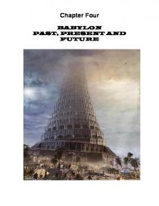 Chapter Four BABYLON PAST, PRESENT AND FUTURE