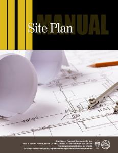 Chapter II: Site Plan Application Submittal Process