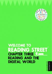 CHAPTER THREE READING AND THE DIGITAL WORLD