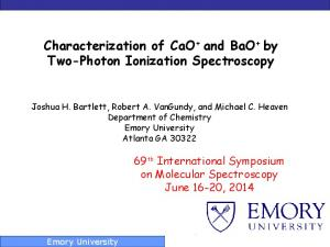 Characterization of CaO + and BaO + by Two-Photon Ionization Spectroscopy