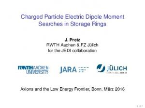 Charged Particle Electric Dipole Moment Searches in Storage Rings