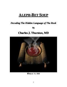 Charles J. Thurston, MD