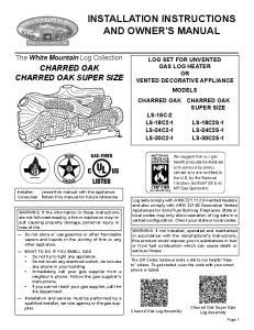 CHARRED OAK CHARRED OAK SUPER SIZE
