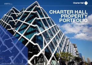 Charter Hall CHARTER HALL PROPERTY PORTFOLIO. 1 Shelley Street, Sydney NSW