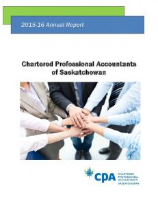 Chartered Professional Accountants of Saskatchewan