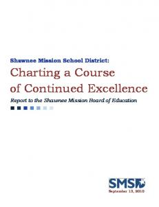 Charting a Course of Continued Excellence