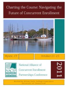 Charting the Course: Navigating the Future of Concurrent Enrollment
