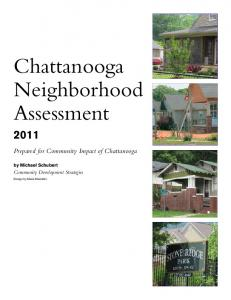 Chattanooga Neighborhood Assessment