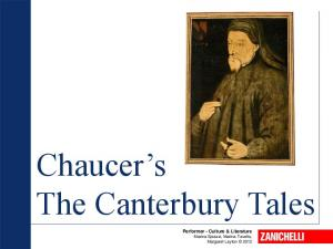 Chaucer s The Canterbury Tales