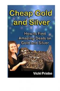 CHEAP GOLD AND SILVER