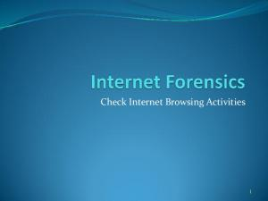 Check Internet Browsing Activities